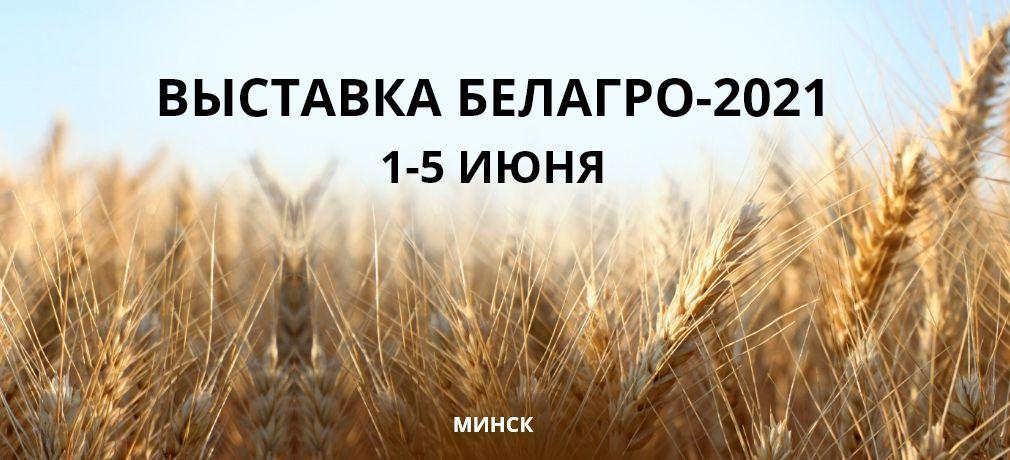 Мы на выставке Белагро
